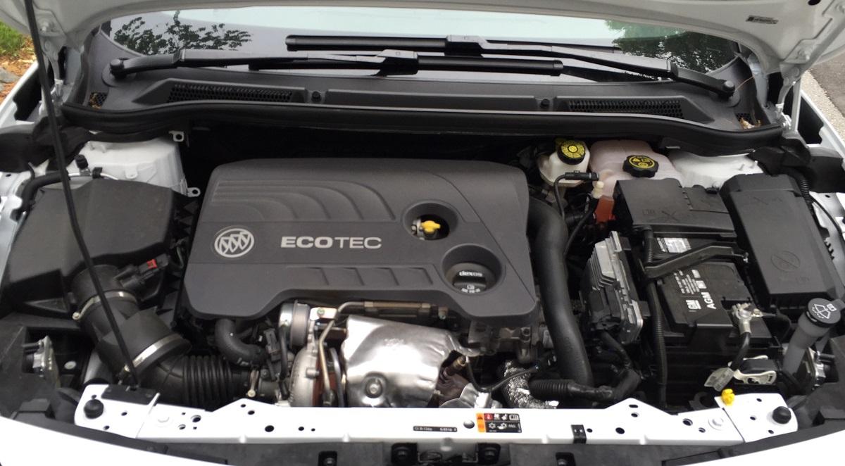 2016 Buick Cascada Engine