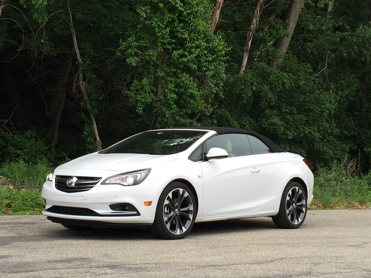 2016 Buick Cascada Front Up