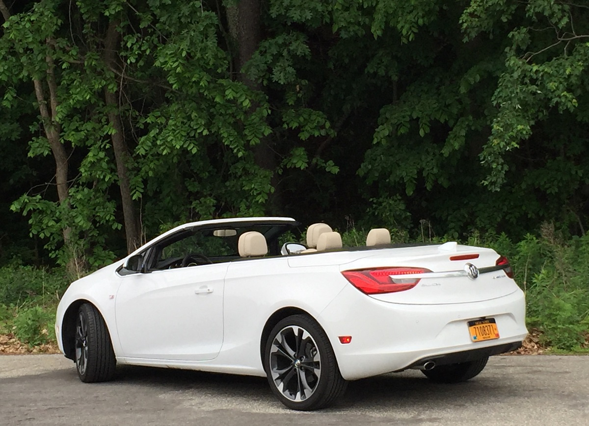 2016 Buick Cascada Rear Down