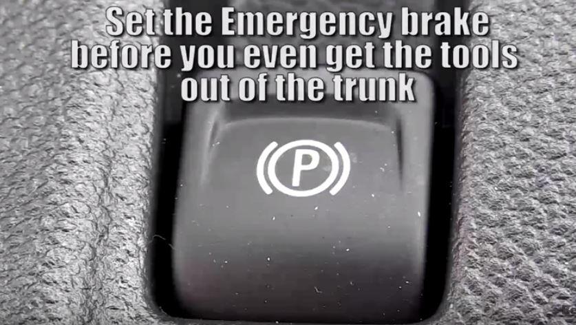 Change a Flat - Parking Brake