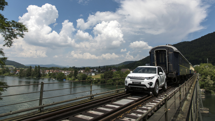 Discovery Sport Train Tow