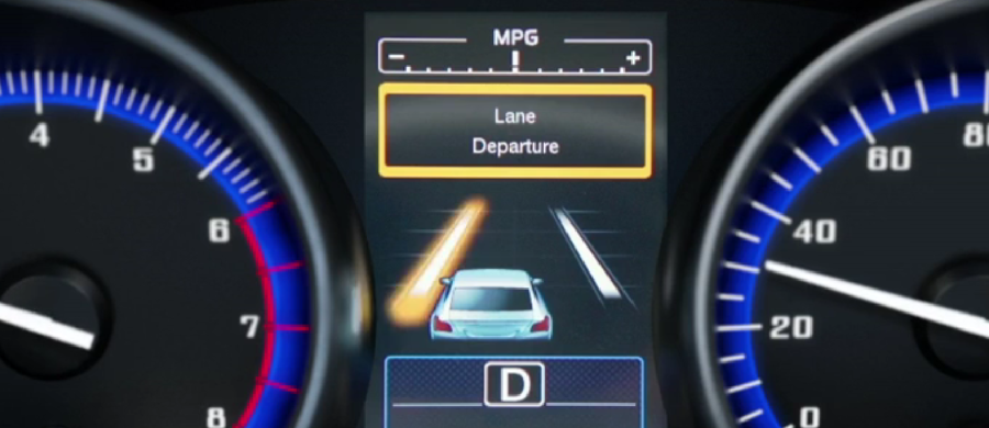 lane departure warning subaru