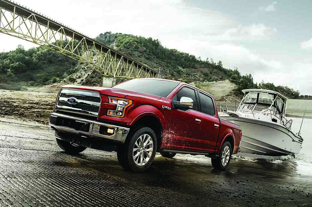 Ford, America's truck leader, continues its relentless pace of innovation, delivering segment-leading torque for 2017 F-150 customers with the all-new 3.5-liter EcoBoost® V6 engine and 10-speed automatic transmission.