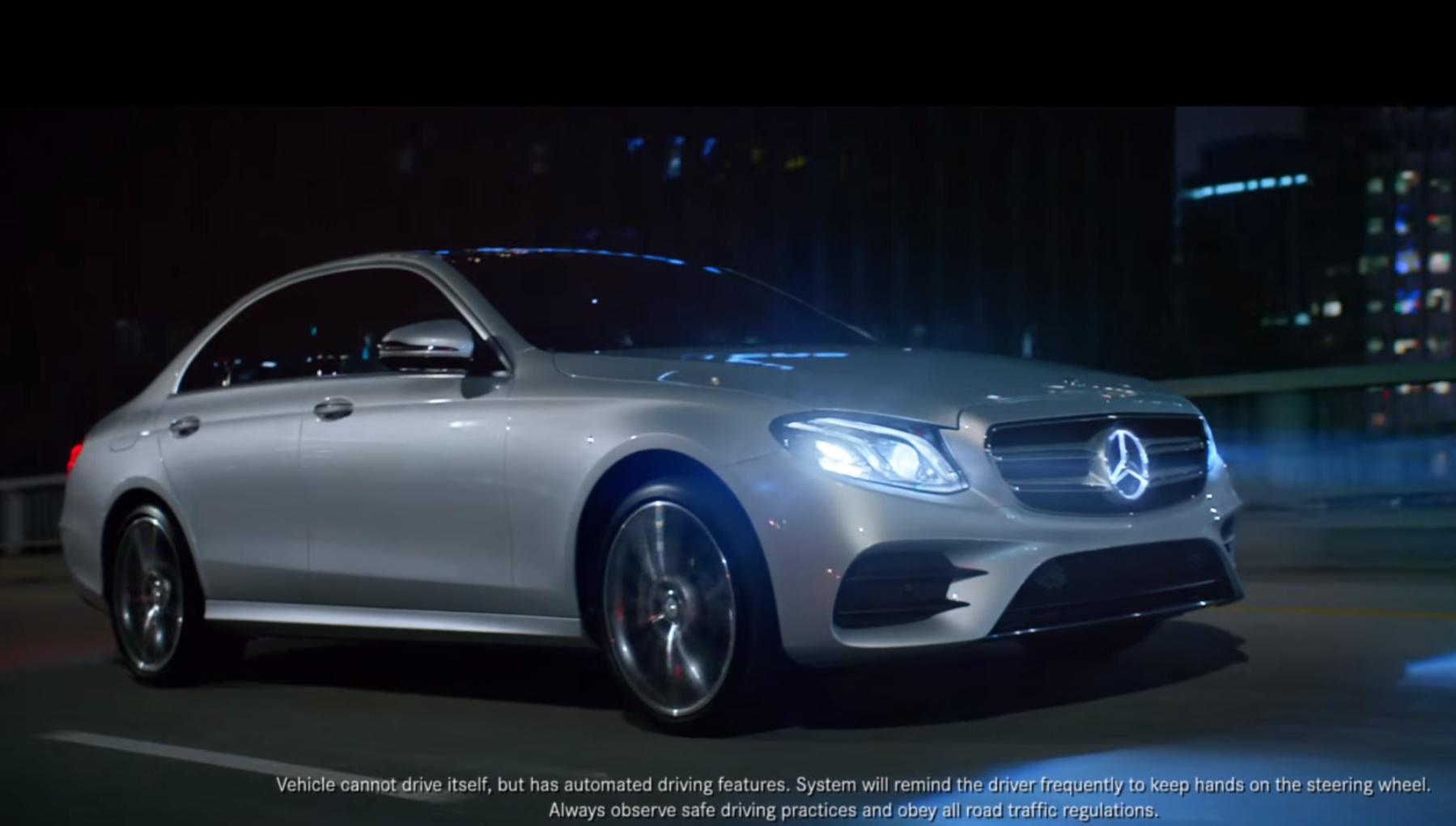 Mercedes-Benz E-Class Commercial