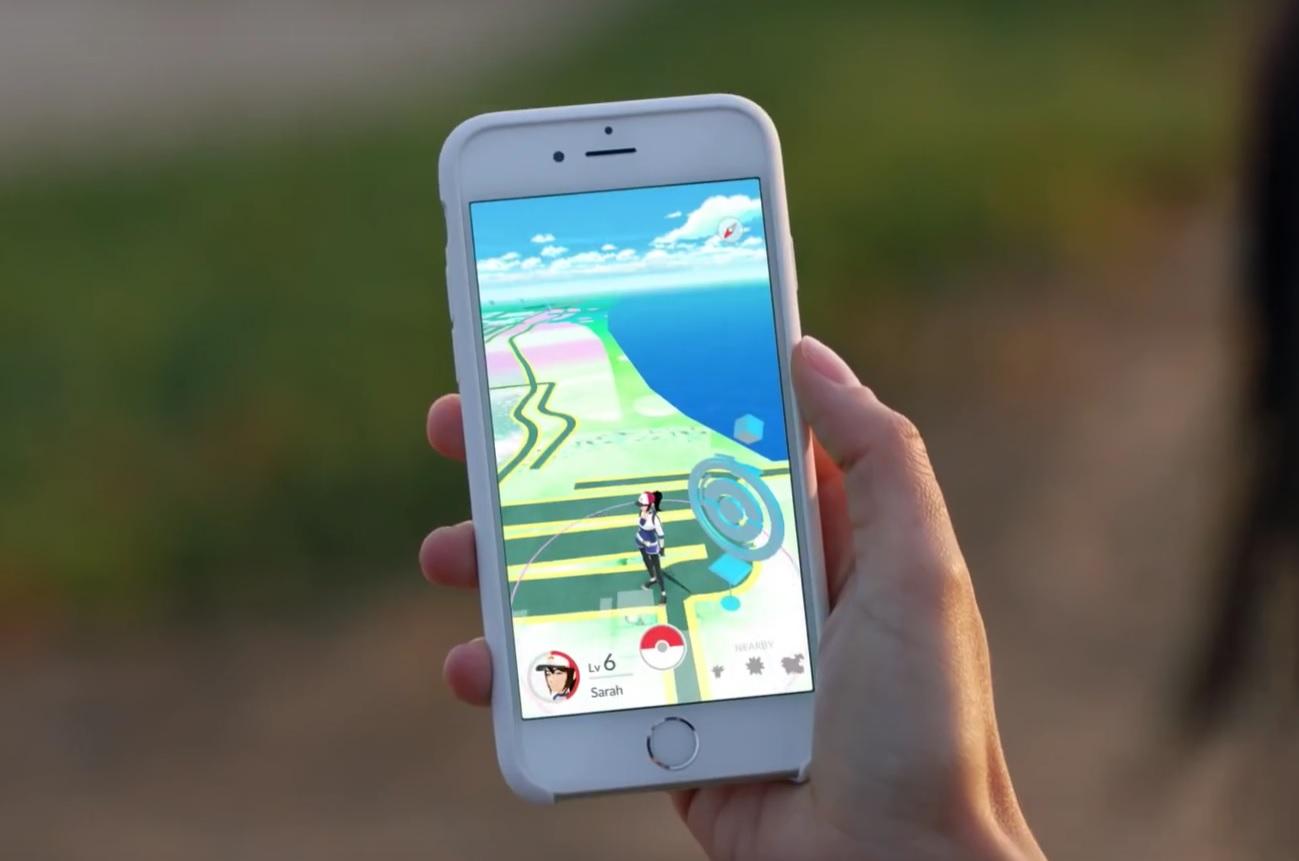 Pokemon Go Promo Screen Shot