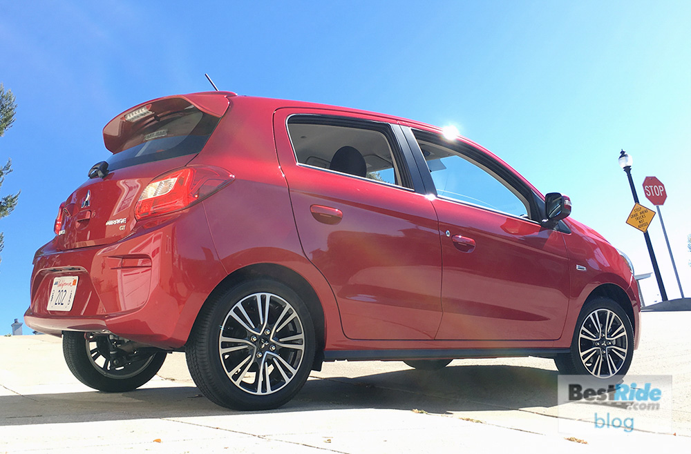 Review 2017 Mitsubishi Mirage Gt A Specific Appeal