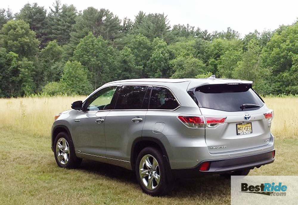 Innovative REVIEW 2016 Toyota Highlander Hybrid Limited AWD  Paul
