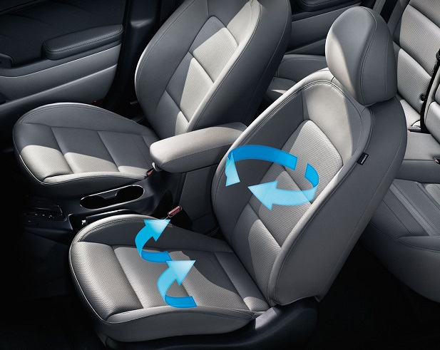 ventilated seats kia forte image