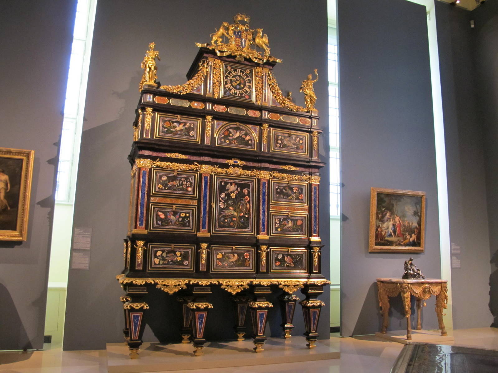 The Badminton Cabinet in Liechtenstein Museum