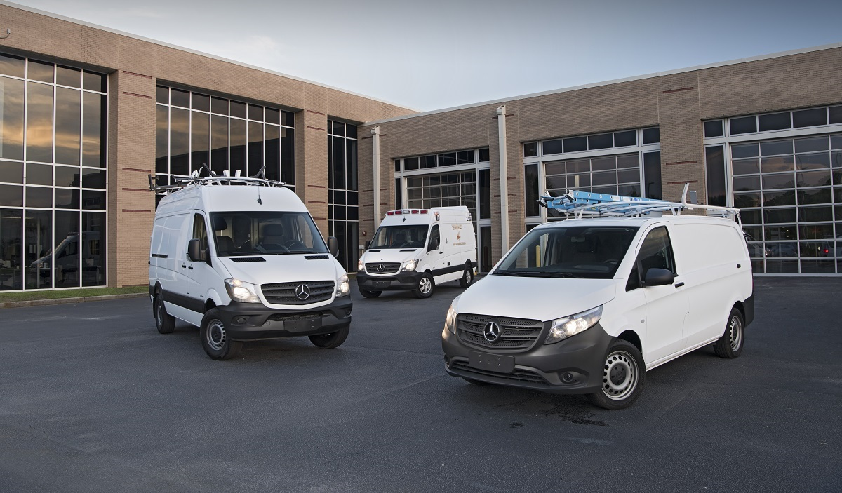 Quick drive mercedes benz sprinter and metris worker vans for Mercedes benz jobs