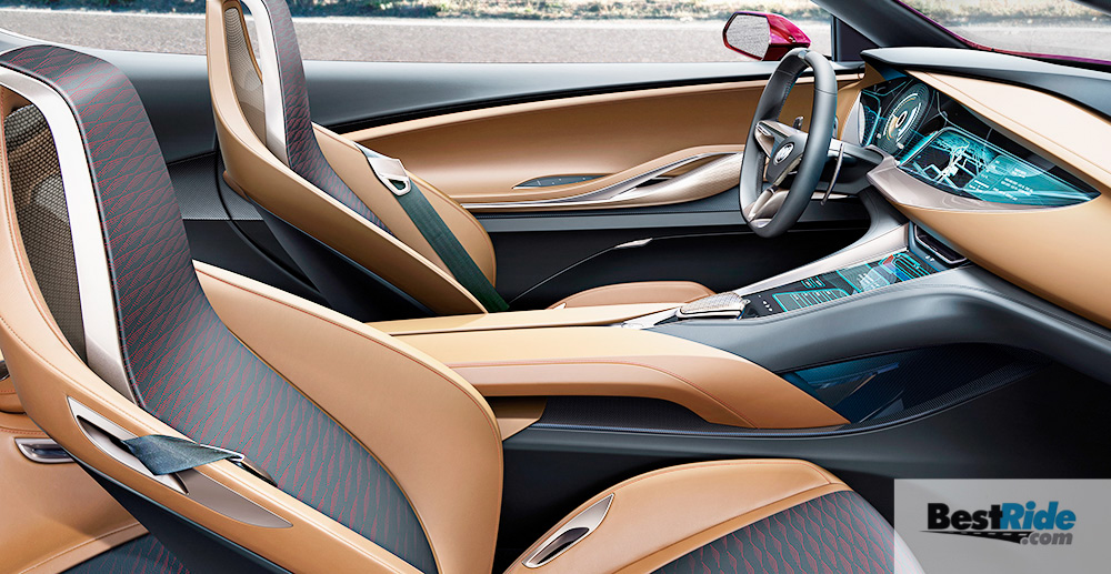 Buick Avista Concept interior shown with Signet interior color