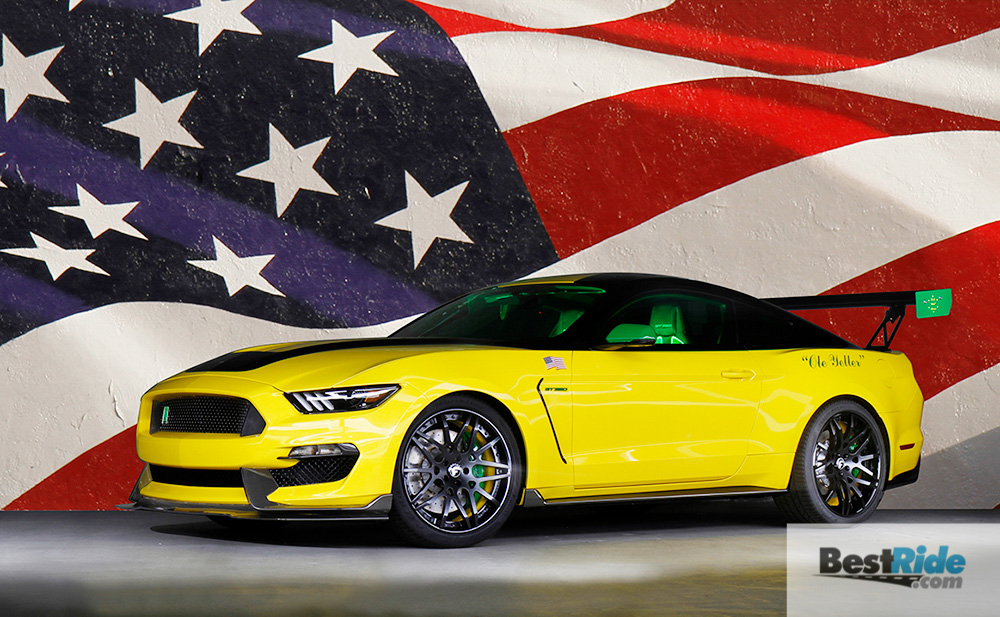"Ford ""Ole Yeller"" Mustang bred from Shelby GT350®"