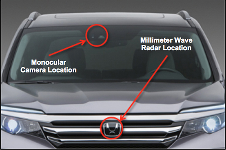 honda sensor locations