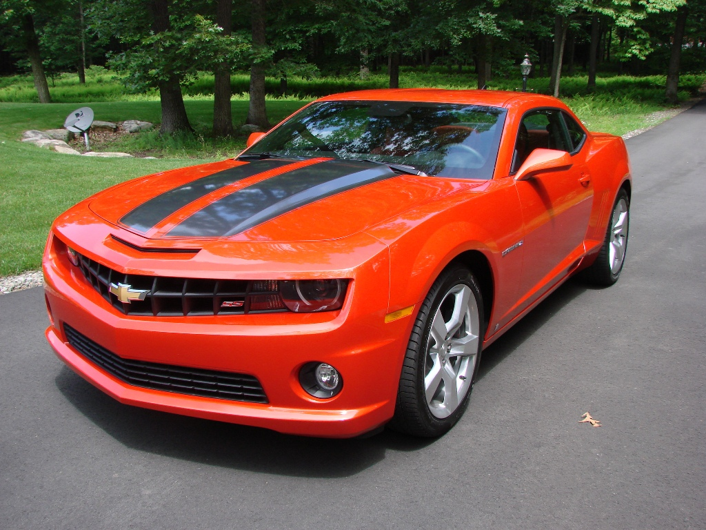 Chevrolet Camaro Inferno Orange