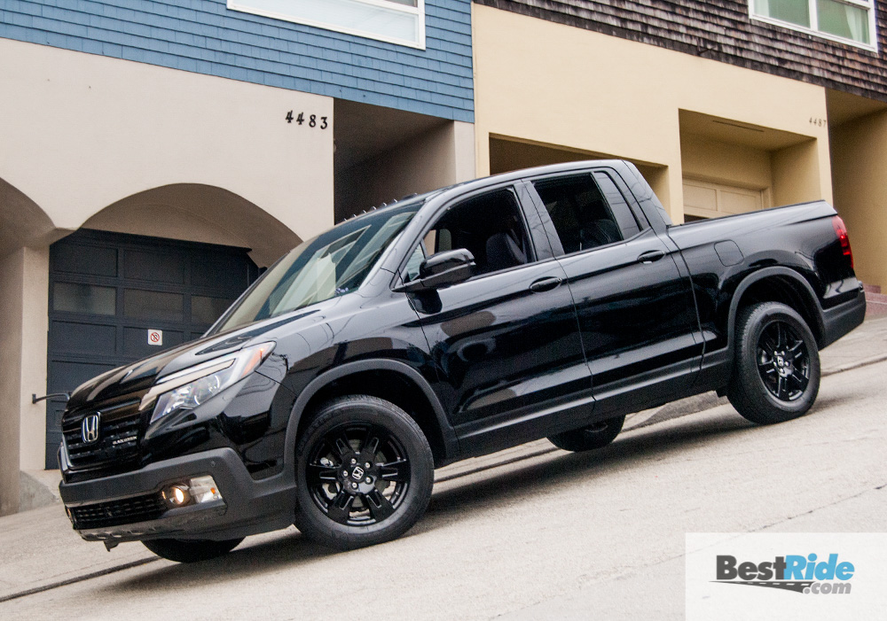 REVIEW: 2017 Honda Ridgeline Black Edition - More Than A Pickup | BestRide