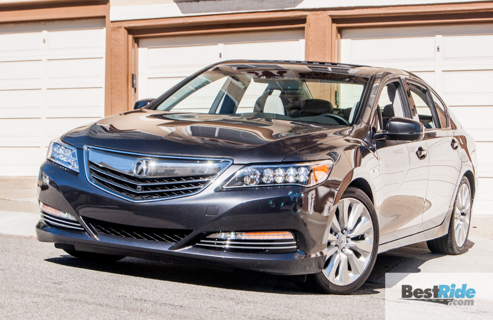 Beautiful REVIEW 2016 Acura RLX Sport Hybrid SHAWD  Rare Hybrid