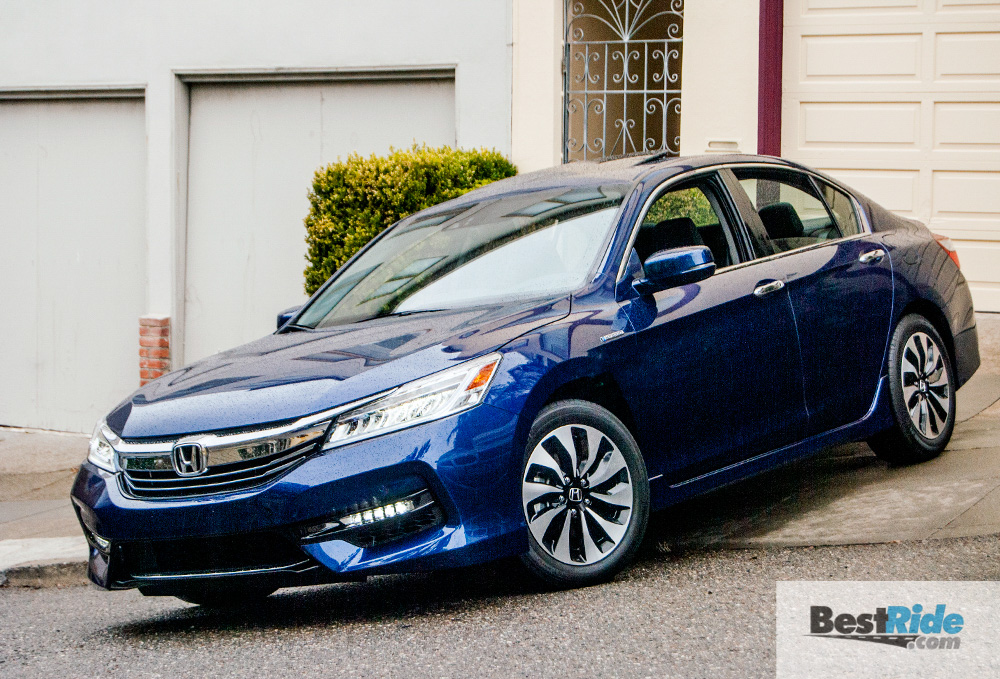 REVIEW: 2017 Honda Accord Hybrid Touring - A Fun-To-Drive Hybrid | BestRide