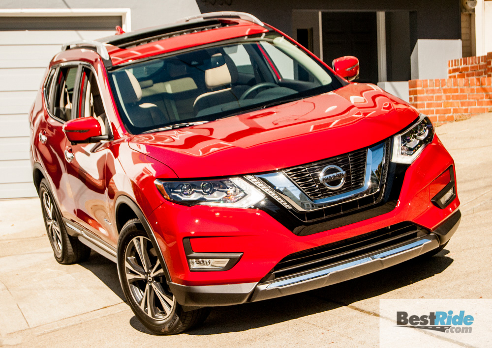 Nissan Rogue Hybrid Sl Awd 2017 1 26