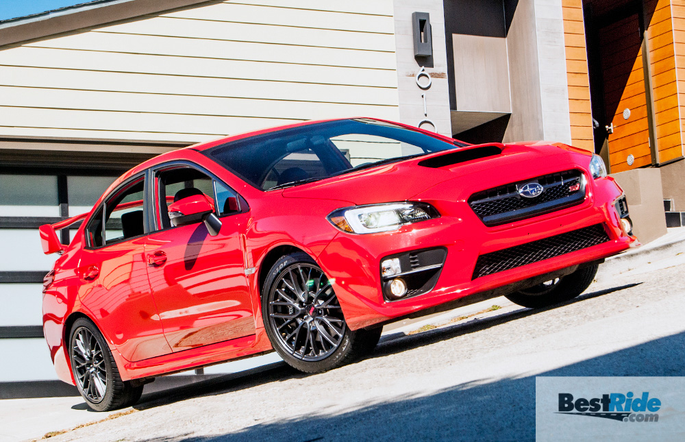 review 2016 subaru wrx sti lively and engaging bestride. Black Bedroom Furniture Sets. Home Design Ideas