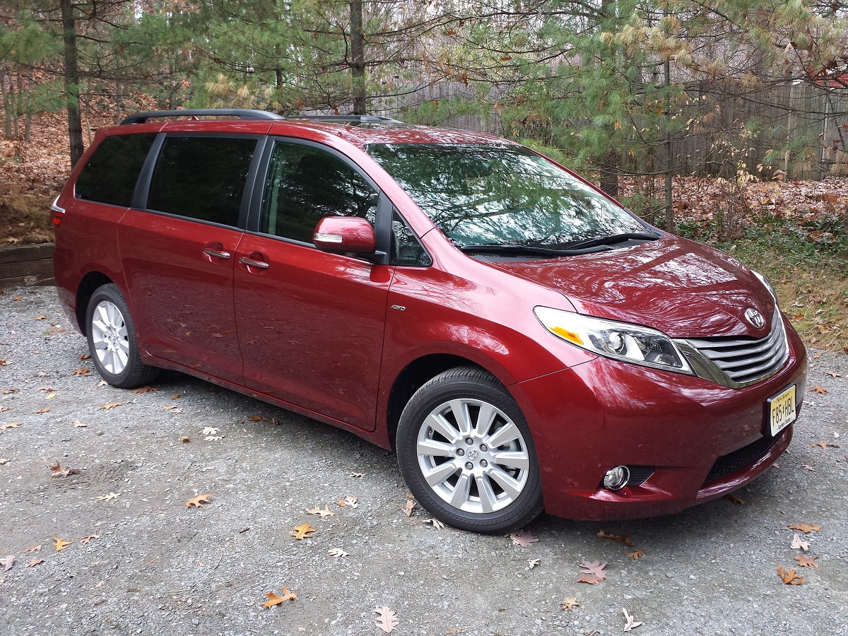 Review 2017 Toyota Sienna Limited Premium Awd The Best All Weather Minivan Bestride