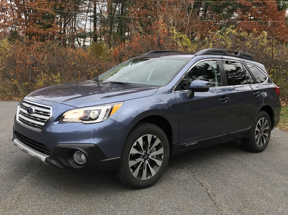 2017 Subaru Outback Front