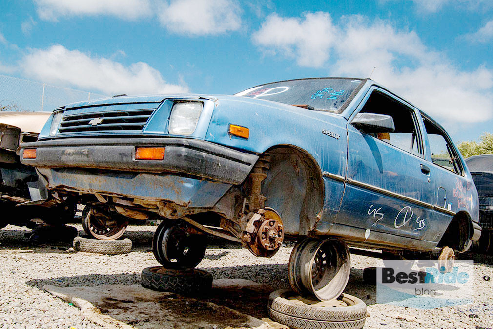 Junkyard Therapy 1985 Chevrolet Sprint The First Chevy