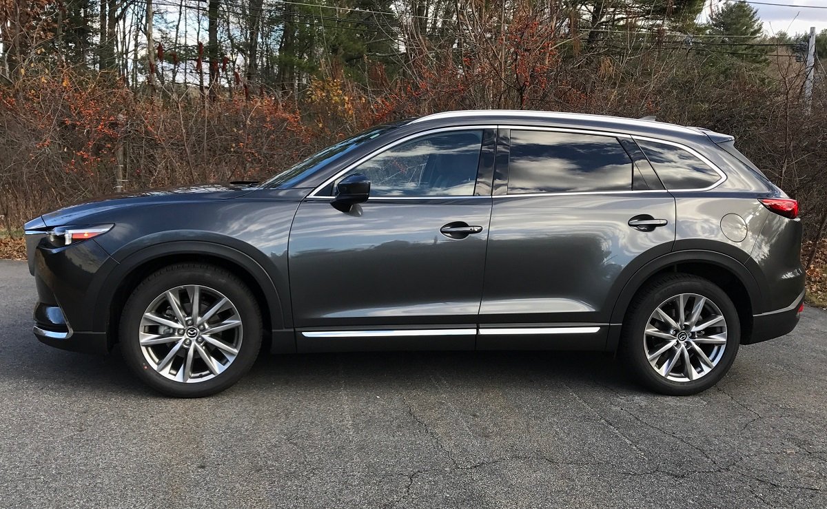 review 2016 mazda cx 9 the 3 row suv that 39 s fun to drive bestride. Black Bedroom Furniture Sets. Home Design Ideas