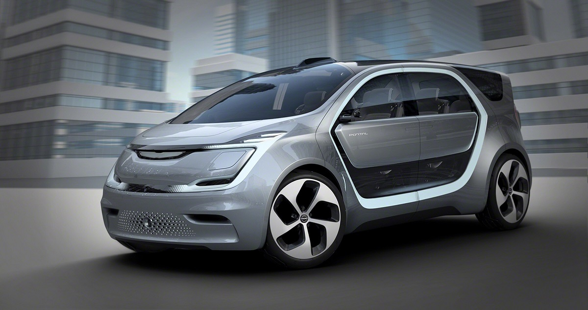 Chrysler Portal Debuts At Ces The Family Car For Millennials
