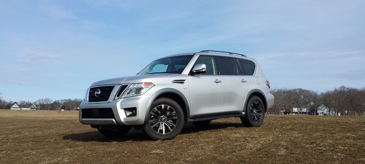 review: 2017 nissan armada platinum 4wd- too much of a good thing