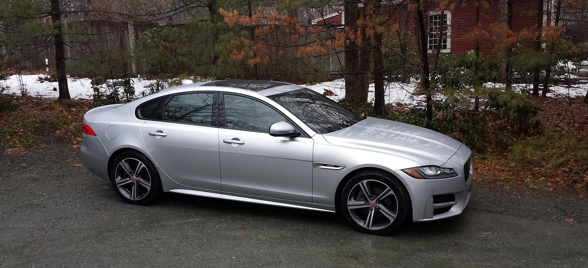 The Jaguar Xf 20d Awd R Sport Is In A Tough Crowd But Its Handling Attention To Detail And Now Modern Technology Make It Real Contender