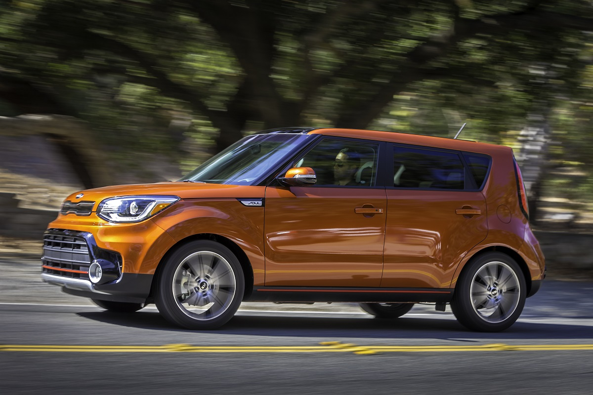 The Kia Soul Is Cute It S Kind Of Car Kids Love To Point At Because Doesn T Look Like Every Other On Road Boxy Yet Manages Come