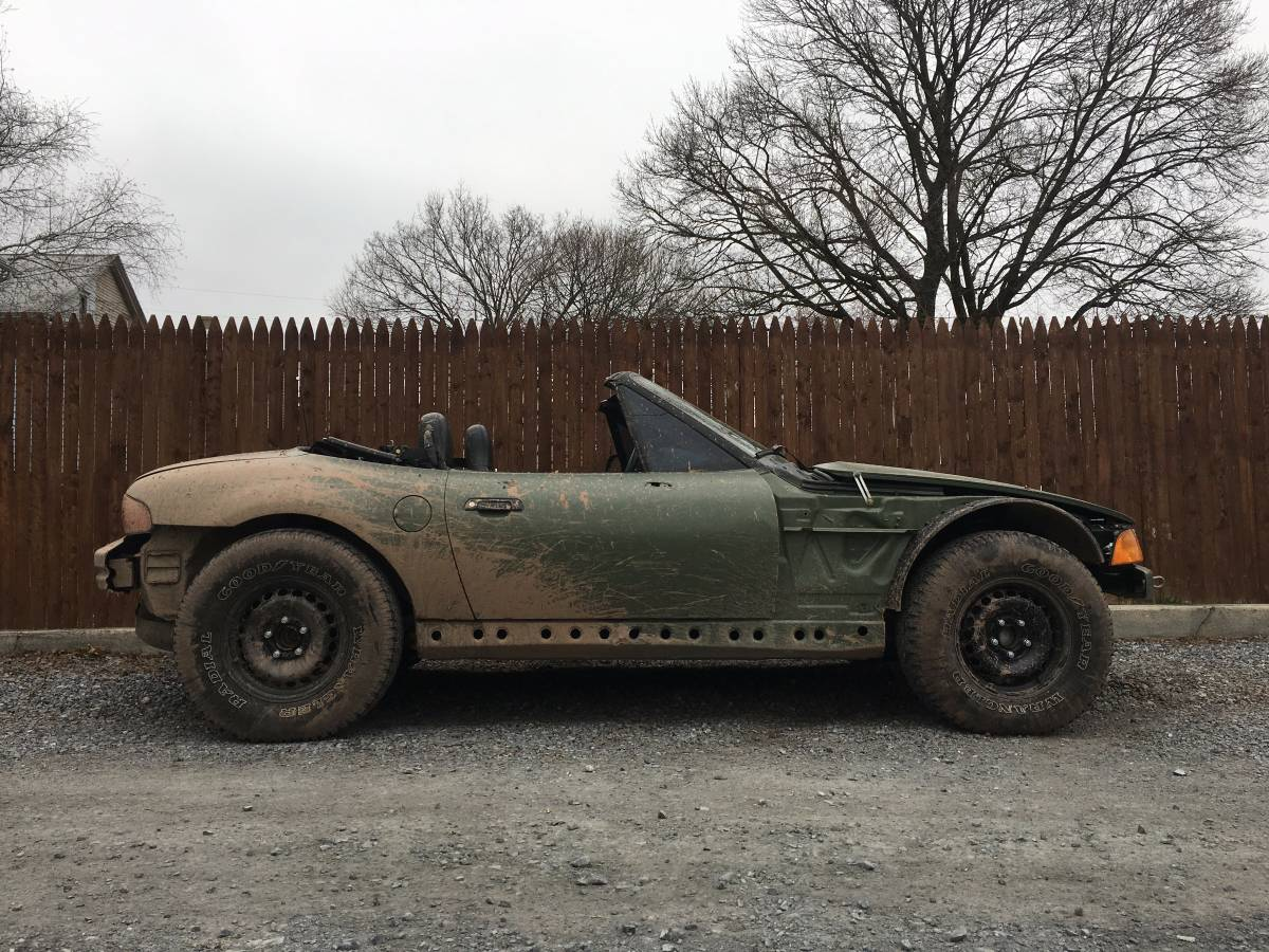 Bmw Z3 Quot Offroadster Quot Is The Doomsday Prepper Car Of Your Dreams Bestride