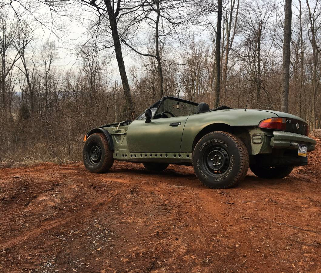 "Bmw Z3 Used: BMW Z3 ""Offroadster"" Is The Doomsday Prepper Car Of Your"