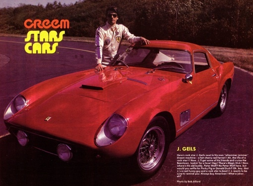 J. Geils (1946 - 2017): Old School Rocker, Ferrari Enthusiast and ...