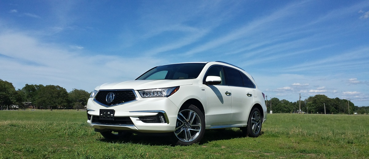 Review 2017 Acura Mdx Sport Hybrid Awd Advance A Greener Shade Of Great