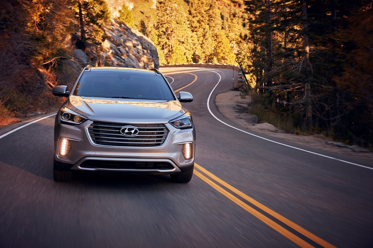 2018 hyundai luxury. interesting luxury the 2018 hyundai santa fe is a carryover from last year so there are no  major changes only big news on the connectivity front with blue  inside hyundai luxury
