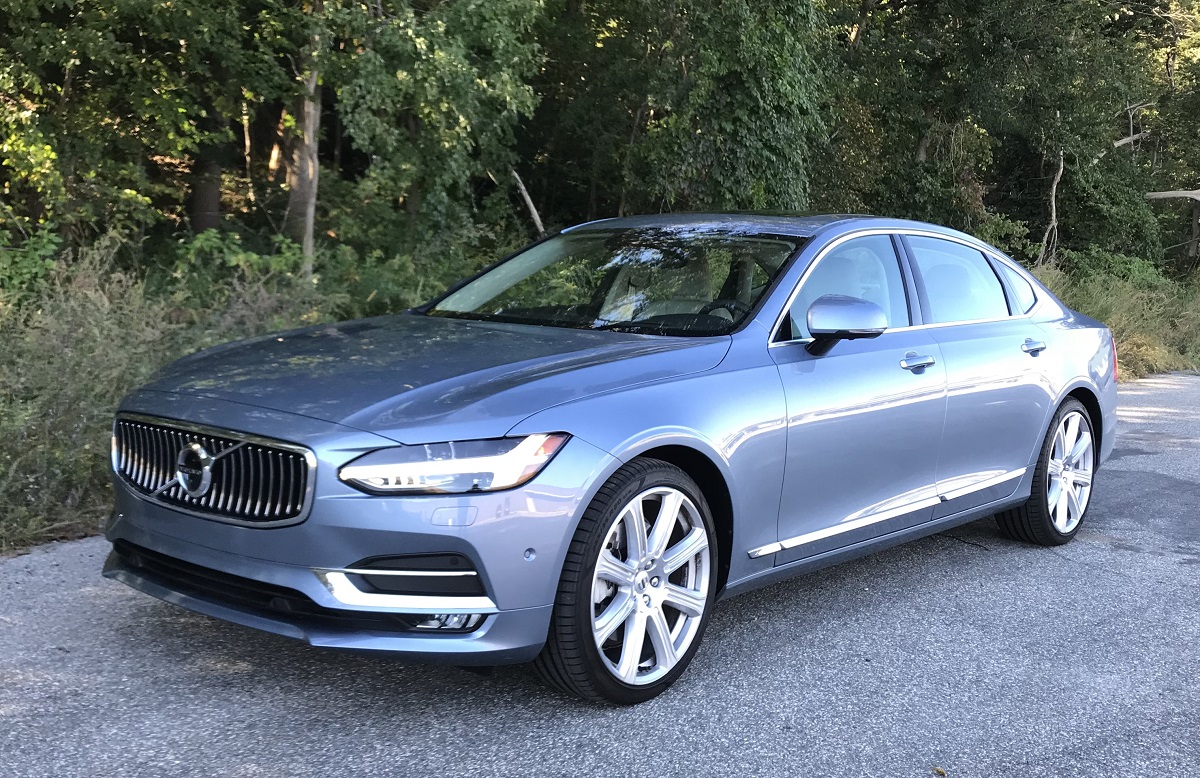 review 2018 volvo s90 inscription understated luxury refined ride bestride. Black Bedroom Furniture Sets. Home Design Ideas