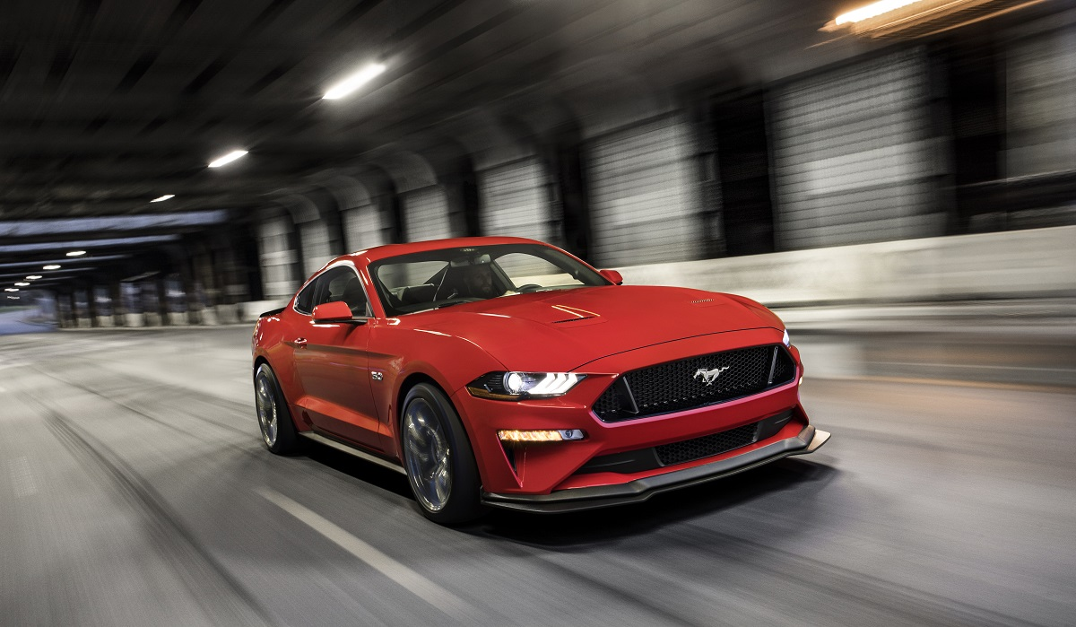 The Ford Mustang Gets A Refresh For 2018 With More And Better Fuel Efficiency It Also New Performance Pack Level 2 To Fill Slot Between
