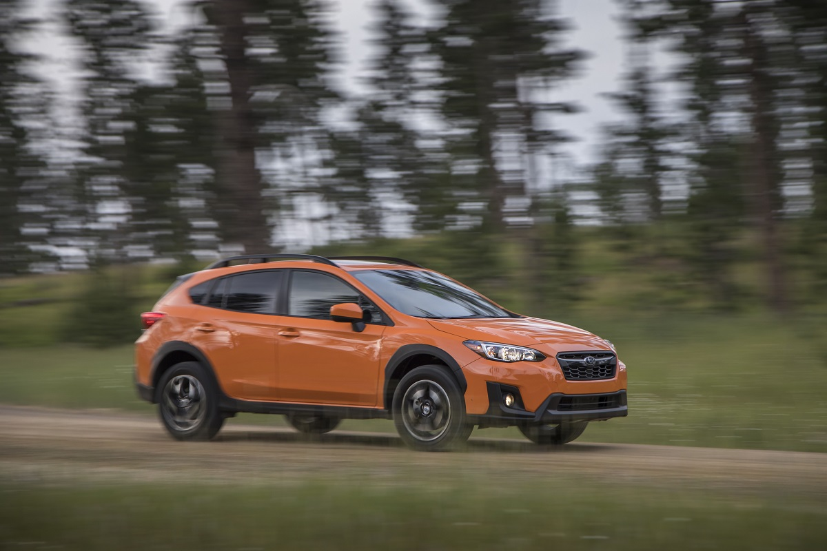 review 2018 subaru crosstrek the crossover for active lifestyles bestride. Black Bedroom Furniture Sets. Home Design Ideas