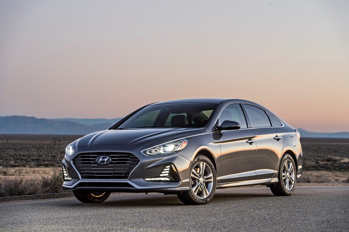 The 2018 Hyundai Sonata Gets A Mid Cycle Refresh This Year There Are Styling Changes Inside And Out Safety Updates Improved Connectivity To Give