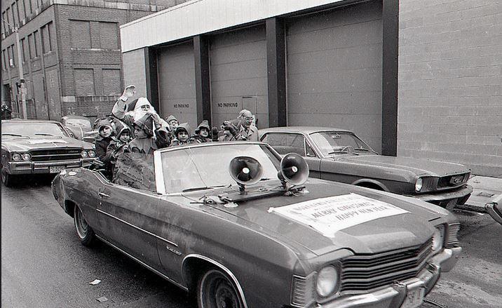 1974 City of Boston Christmas Parade