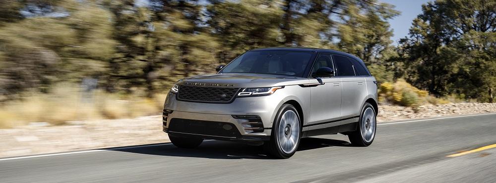 review 2018 range rover velar r dynamic hse range rover 39 s styling evolves bestride. Black Bedroom Furniture Sets. Home Design Ideas