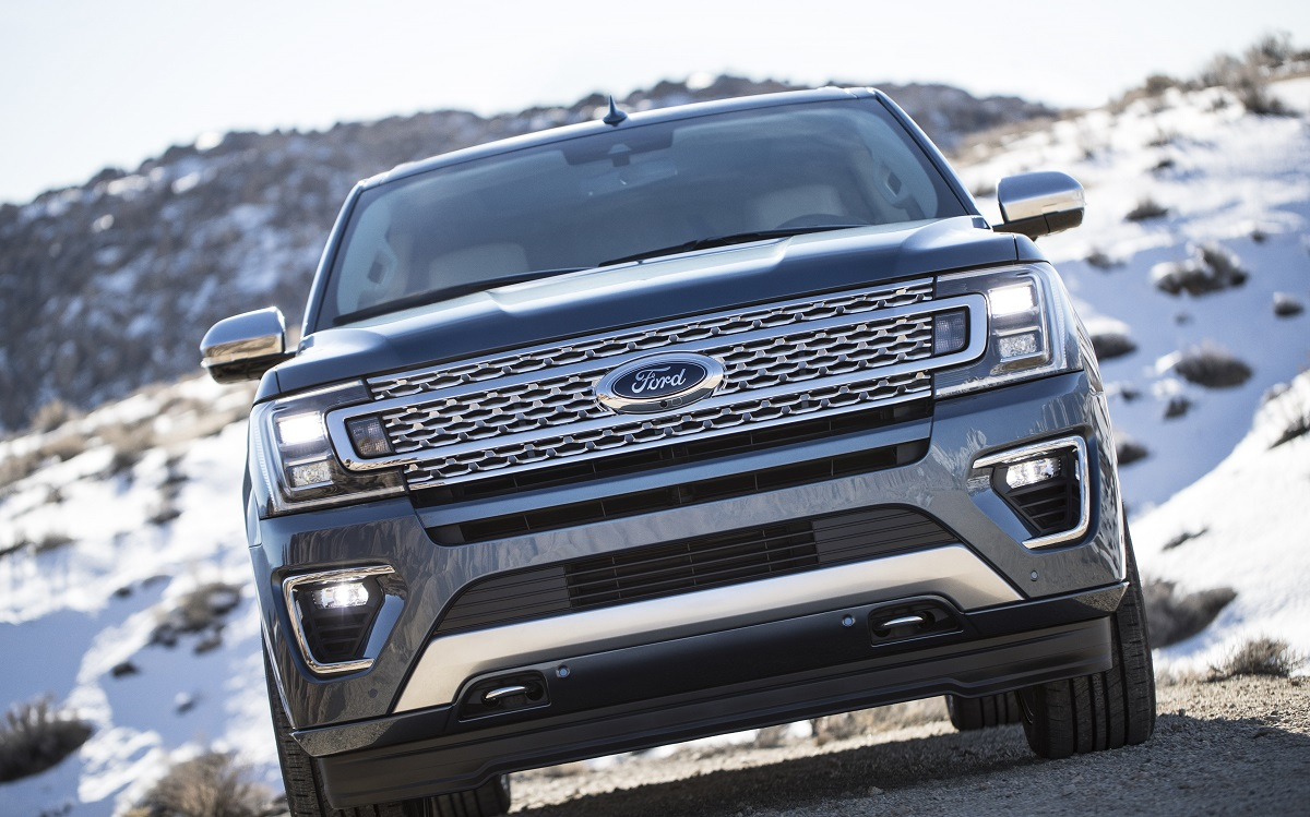 The Ford Expedition Is All New For 2018 With A Look Well Equipped Interior And Plenty Of Cability Update Takes From Ho Hum Suv