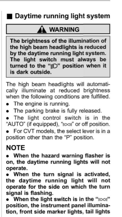 What Are Daytime Running Lights and Why Do I Need Them