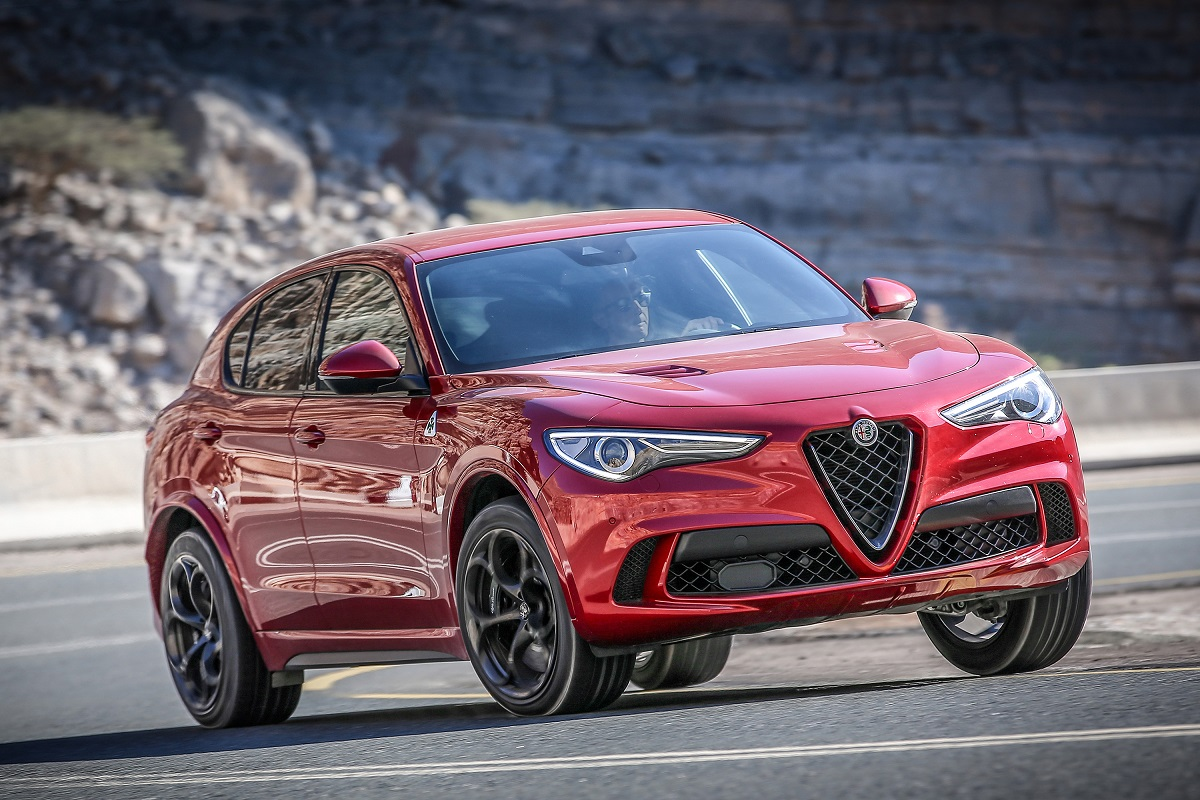first drive the 2018 alfa romeo stelvio quadrifoglio is ready for the road or the track bestride. Black Bedroom Furniture Sets. Home Design Ideas