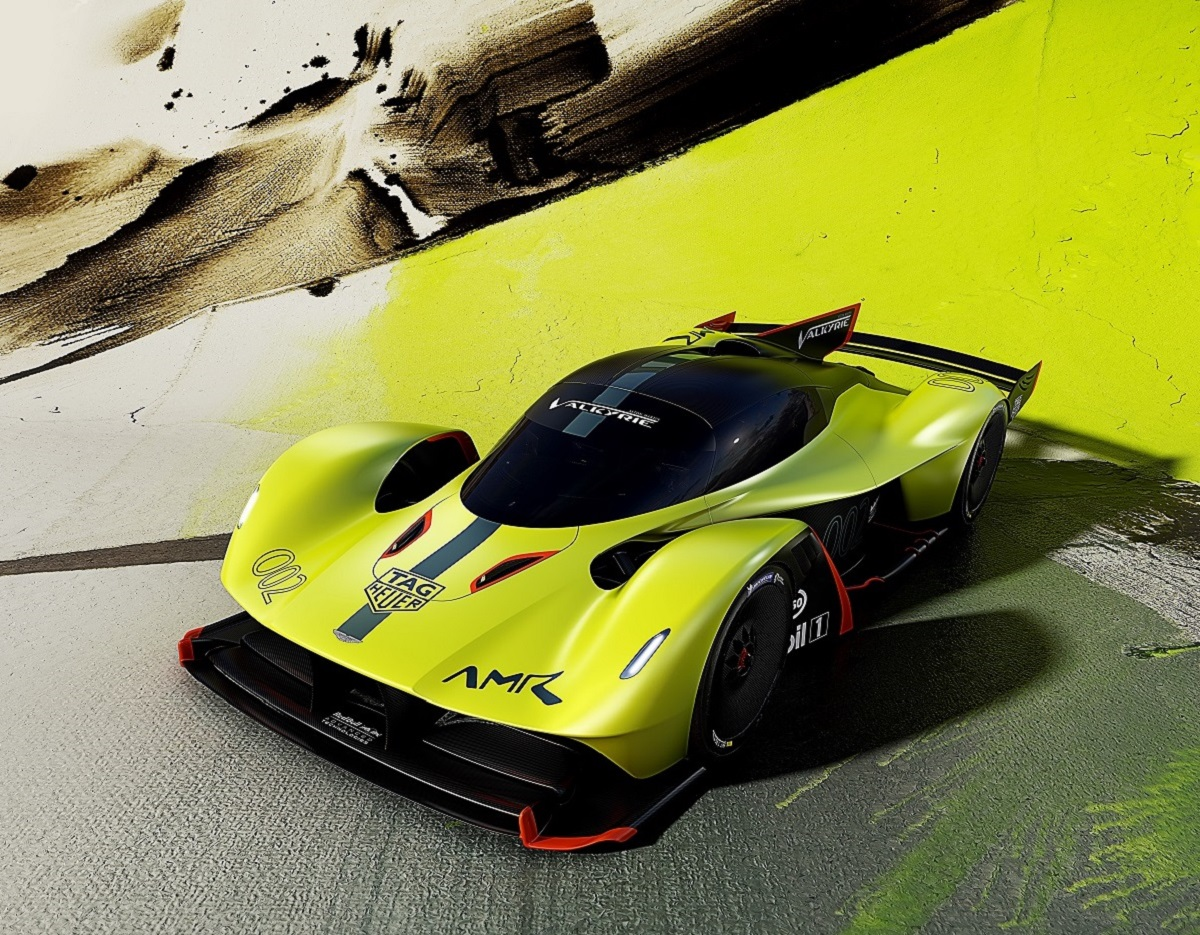 Aston Martin Valkyrie Amr Pro Is The 1100 Horsepower