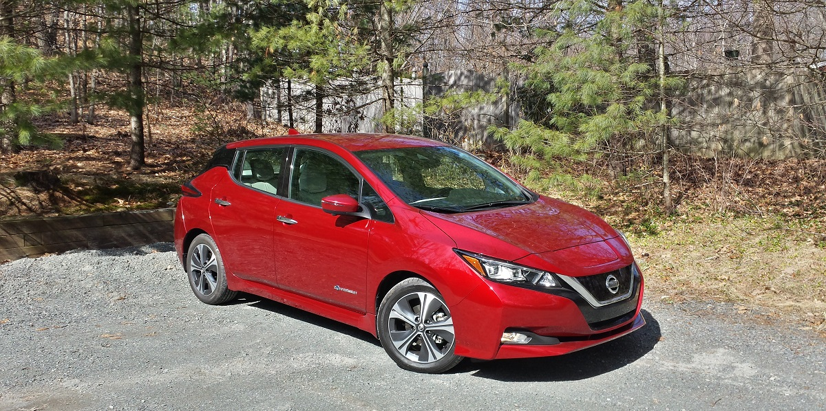The 2018 Nissan Leaf Is A Huge Improvement Over The Prior Generation. This  New EV Is Fun To Drive, Comfortable And Has A Range Of About 150 Miles.