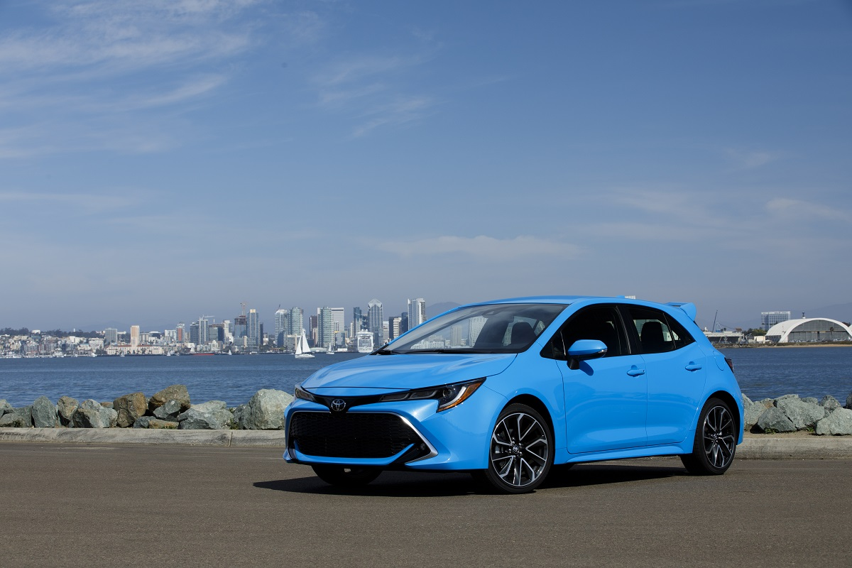 Toyota Corolla Mpg U003eu003e First Drive: 2019 Toyota Corolla Hatchback Is Plenty  Of Fun