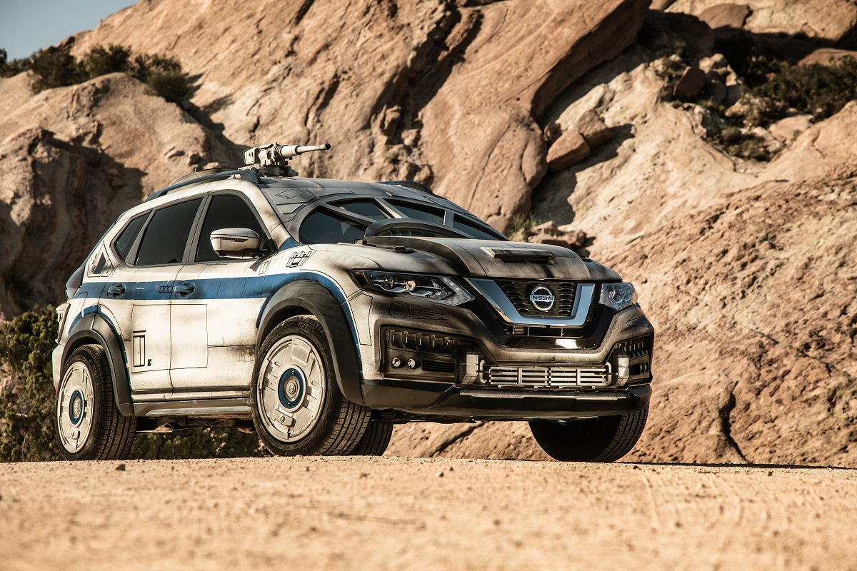 A Millennium Falcon Themed 2018 Nissan Rogue Is The Latest Custom Show Car  Born Of Nissanu0027s Collaboration With Lucasfilm. Inspired By The Ship That  Made The ...