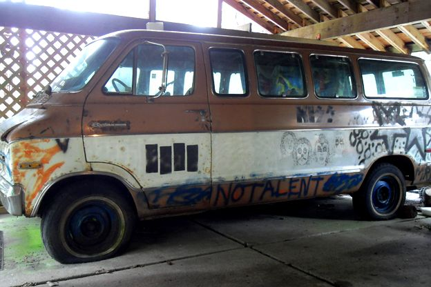 Recently Discovered Aerosmith Van is Part of a Long Line of